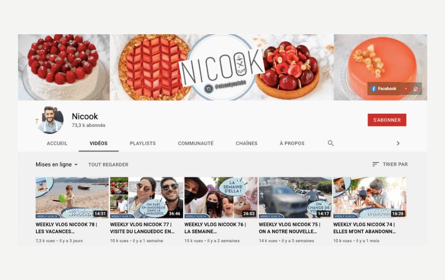 Youtube Nicook