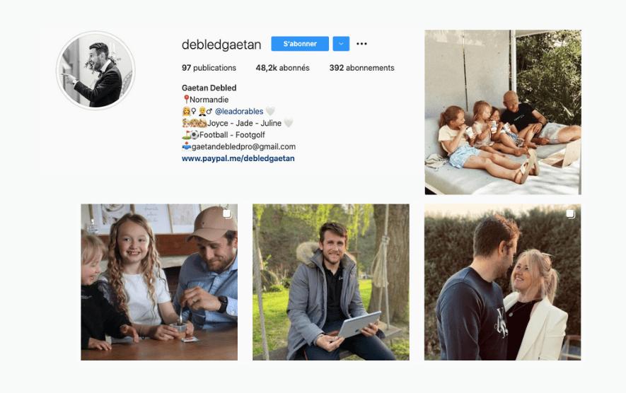 Instagram Feed gaetan debled